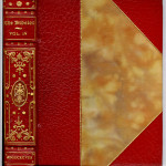 The Bibelot (1895-1915) - Special publisher's binding of 3/4 red levant.