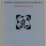 "Miscellaneous Series (1895-1923) - Keats' ""Odes, Sonnets & Lyrics"" with George Auriol design. Cover."