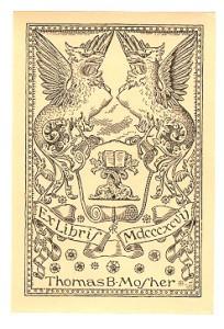 Mosher Bookplate