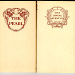 "Old World Series (1895-1909) - Marian Mead, trans. ""The Pearl,"" with cover design by Thomas Maitland Cleland. Fiona Macleod's ""Divine Adventure"" also with Cleland cover design."