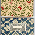 "Venetian Series (1910-1913) - A. Mary Robinson's ""Songs from an Italian Garden"" and Oscar Wilde's ""The Sphinx."" Covers."