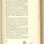 """At first opening of """"The Roadmender"""", fifth part, Page 31."""