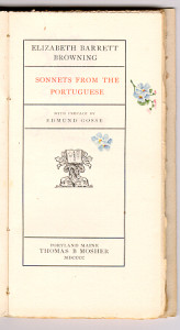 "Dainty illumination to ""Sonnets from the Portuguese"" (1900)."