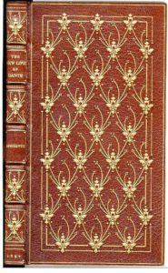 "Zaehensdorf Exhibition Binding for The Mosher Books - Dante (Rossetti, tr.) ""The New Life of Dante Alighieri"" (1897)"