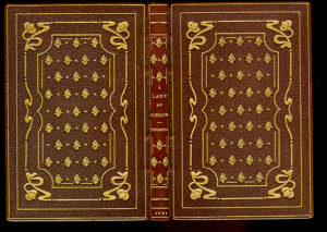 Zaehensdorf Exhibition Binding for The Mosher Books